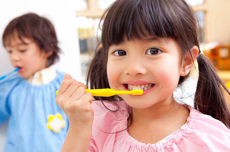 小児予防治療の頻度